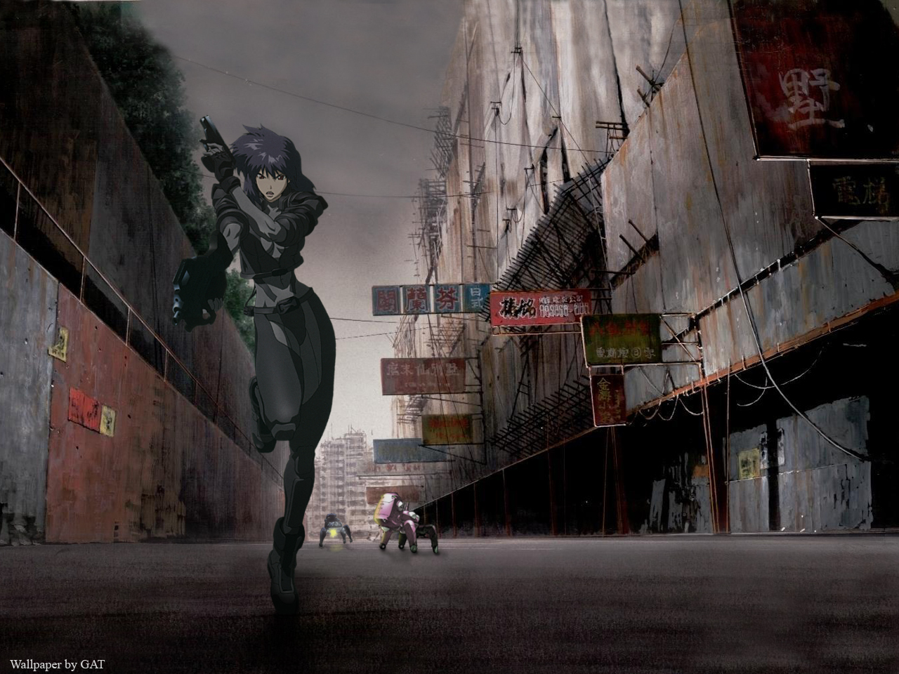 Download Wallpaper From Anime Ghost In The Shell With Tags Windows Macbook Ghost In The Shell Tachikoma