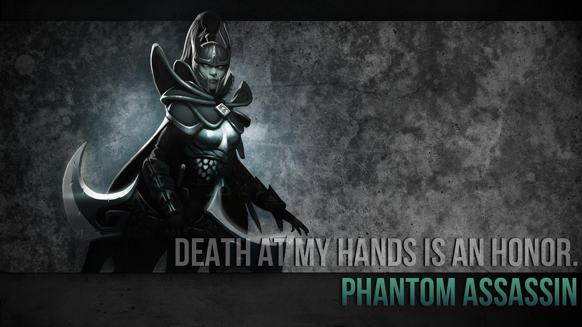 Download Wallpaper From Game Dota 2 Phantom Assassin With Tags