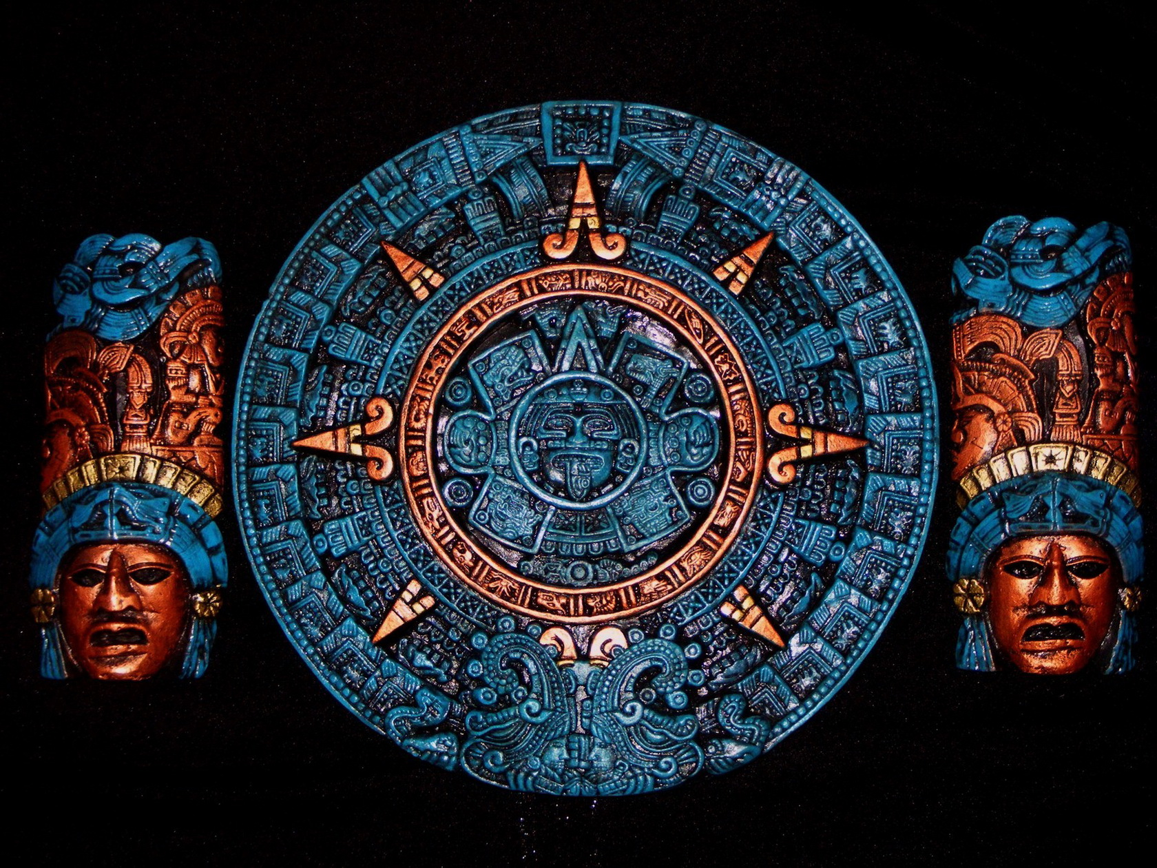 mayan sacrifice paintings