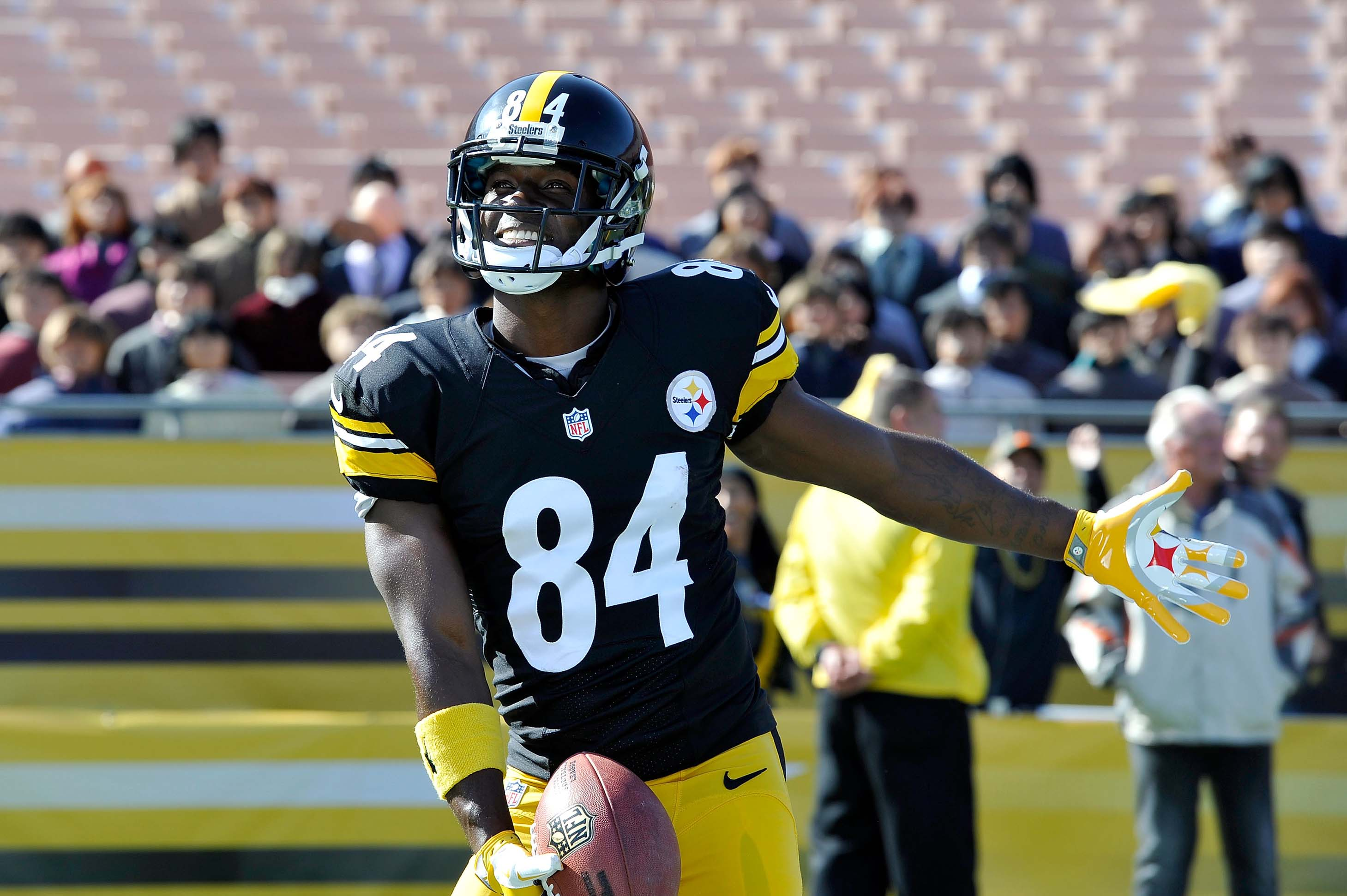 Latest on Pittsburgh Steelers wide receiver Antonio Brown including news stats videos highlights and more on ESPN