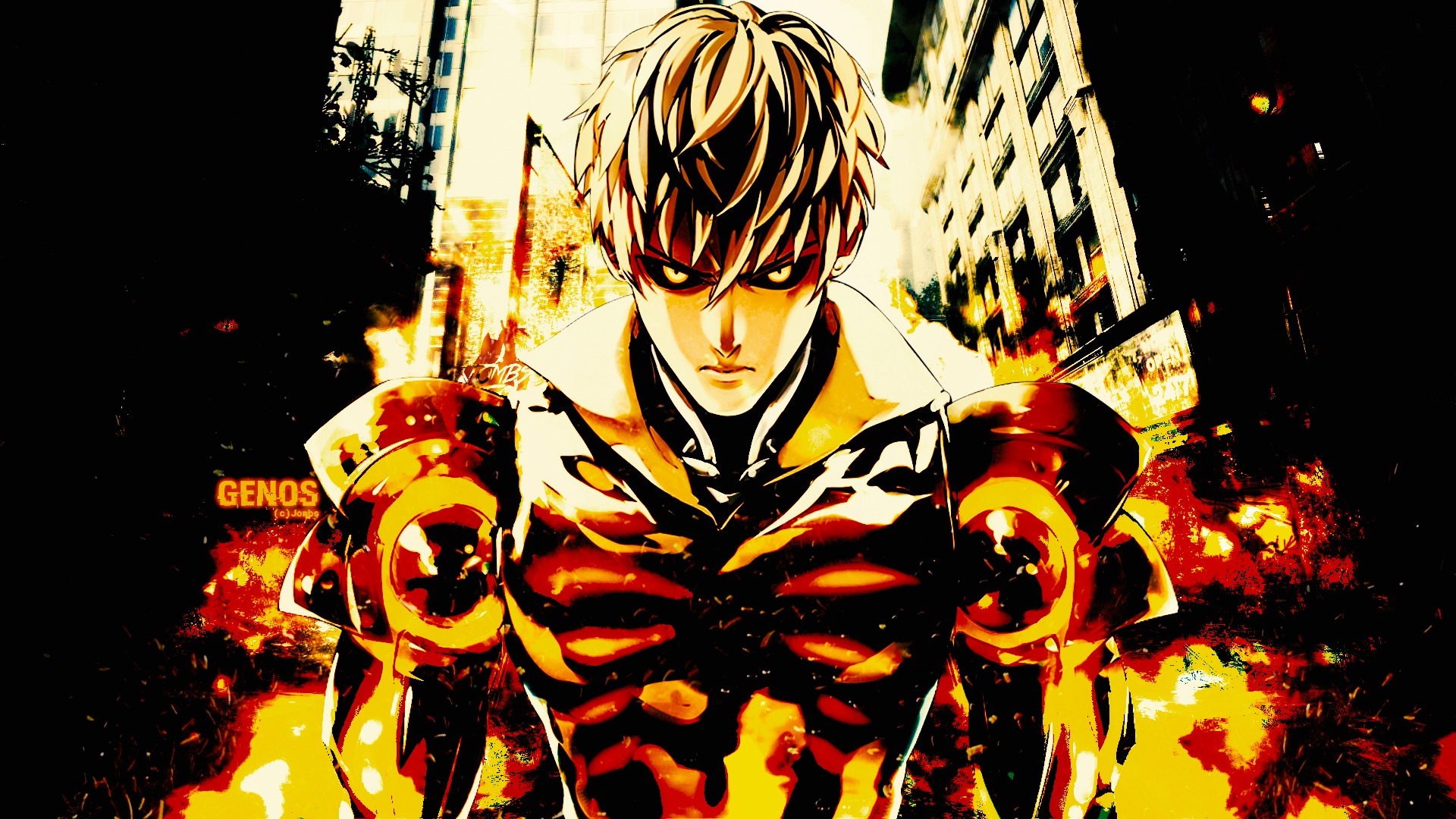 Download Wallpaper From Anime One Punch Man With Tags Imac