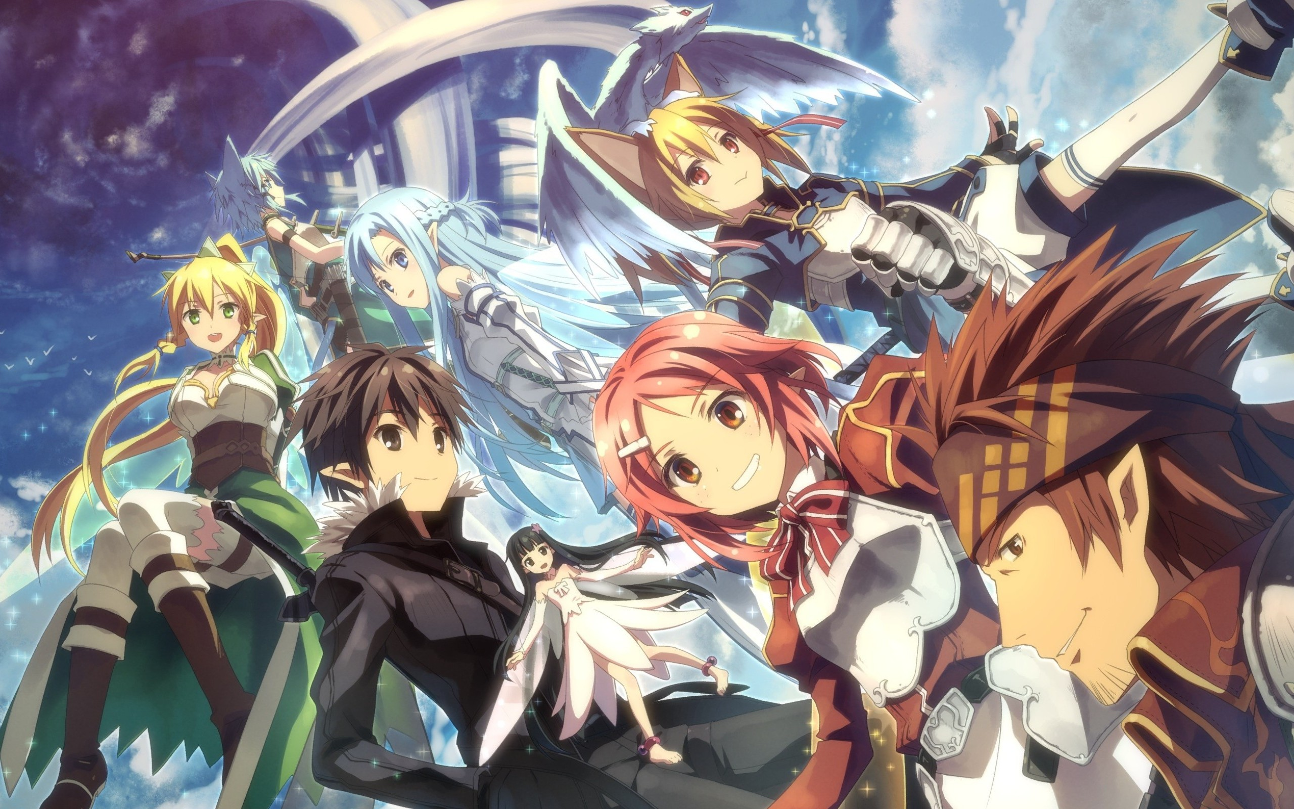 Download Wallpaper From Anime Sword Art Online Ii With Tags Free