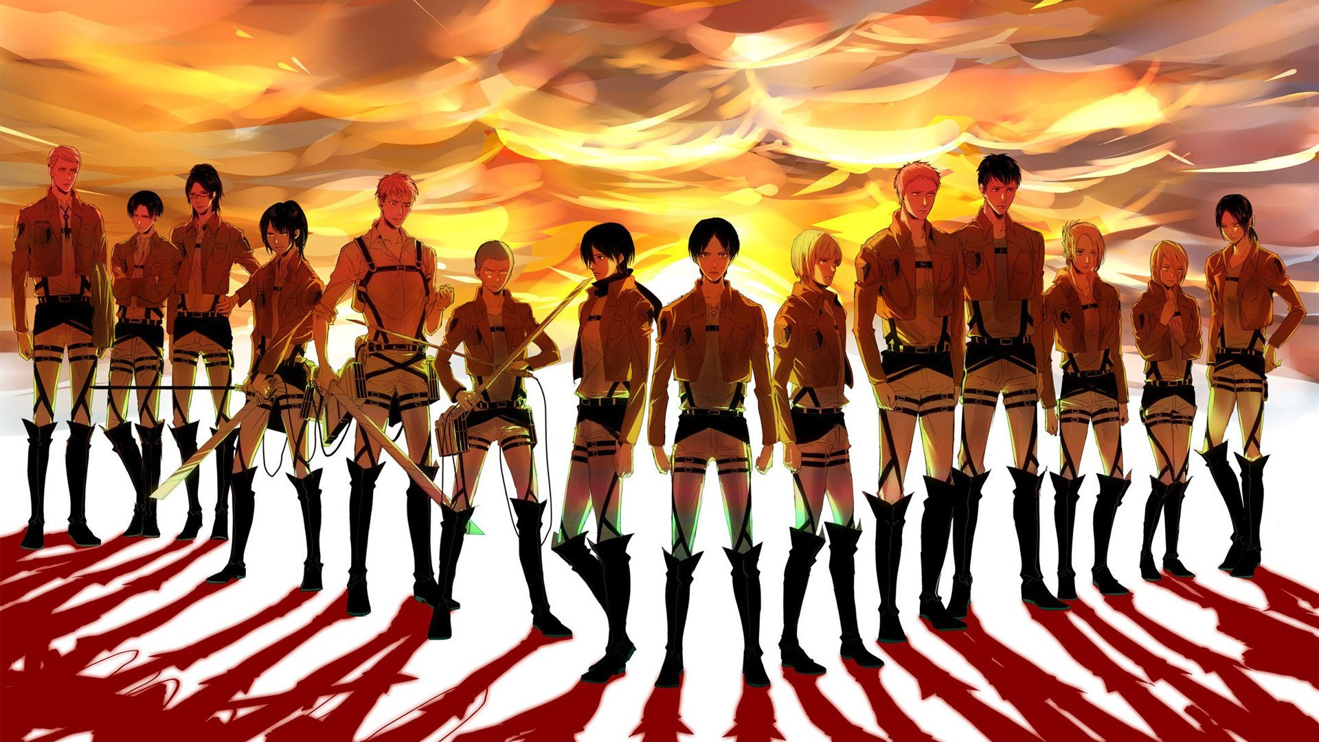 Download Wallpaper From Anime Attack On Titan With Tags Eren