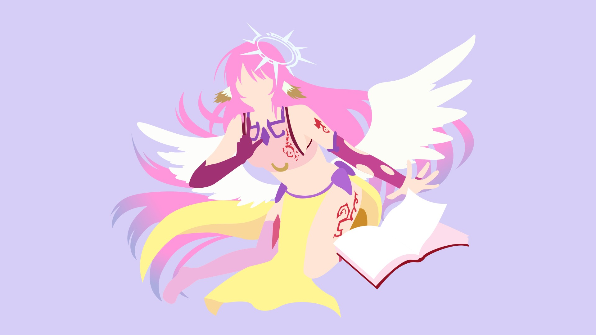 Download Wallpaper From Anime No Game No Life With Tags Jibril