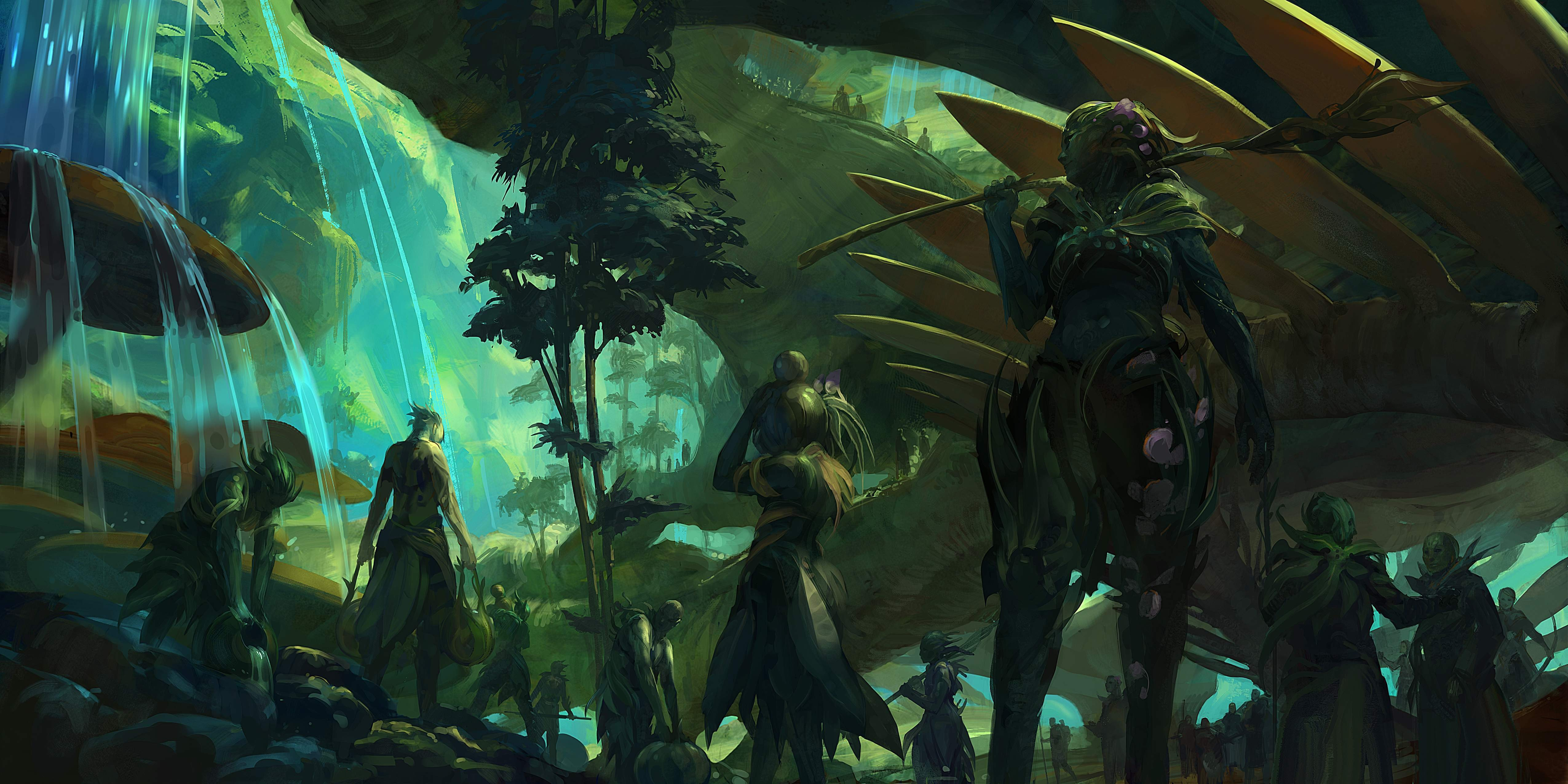Download Wallpaper From Game Guild Wars 2 With Tags Pictures