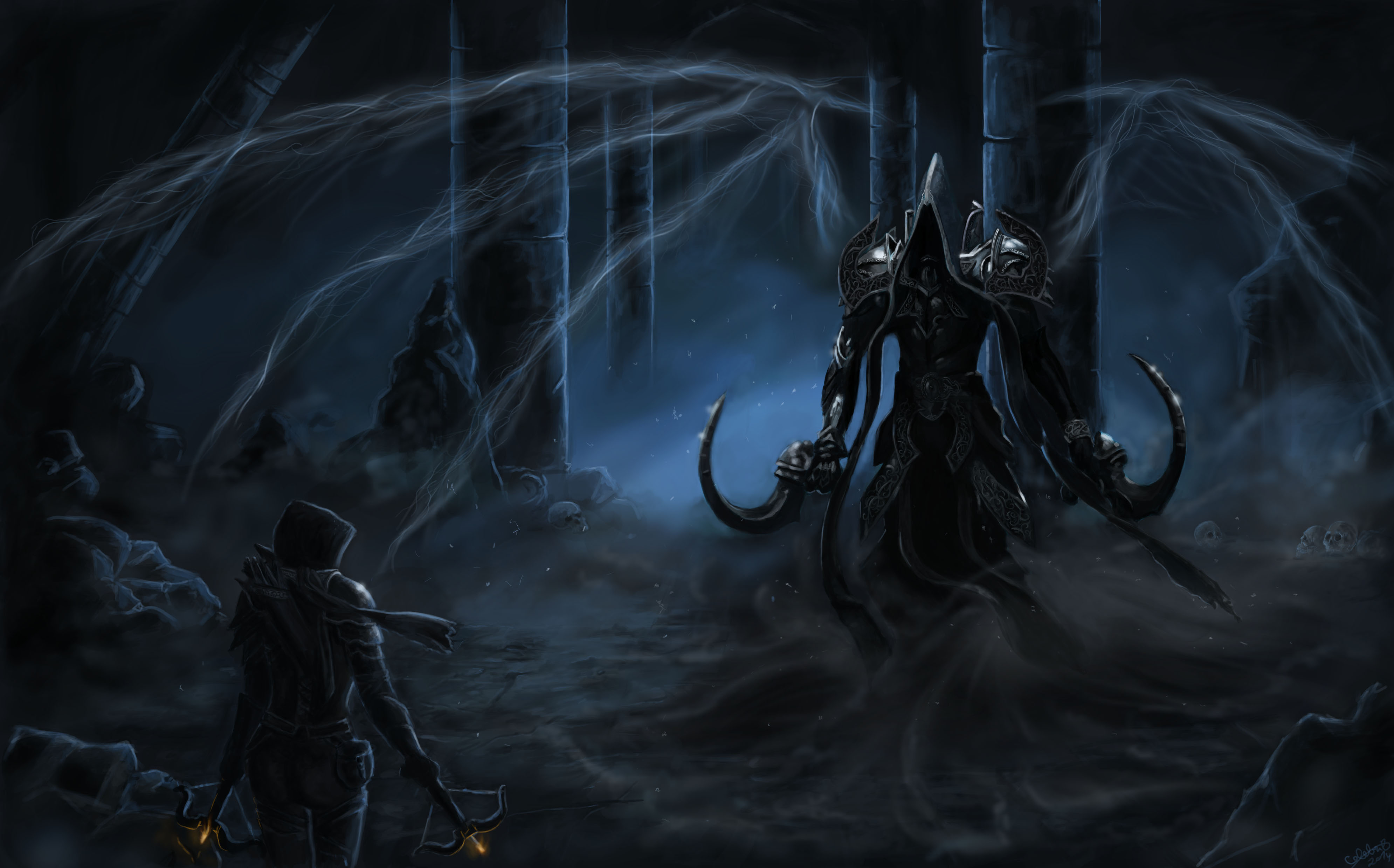 Download Wallpaper From Game Diablo Iii Reaper Of Souls With Tags