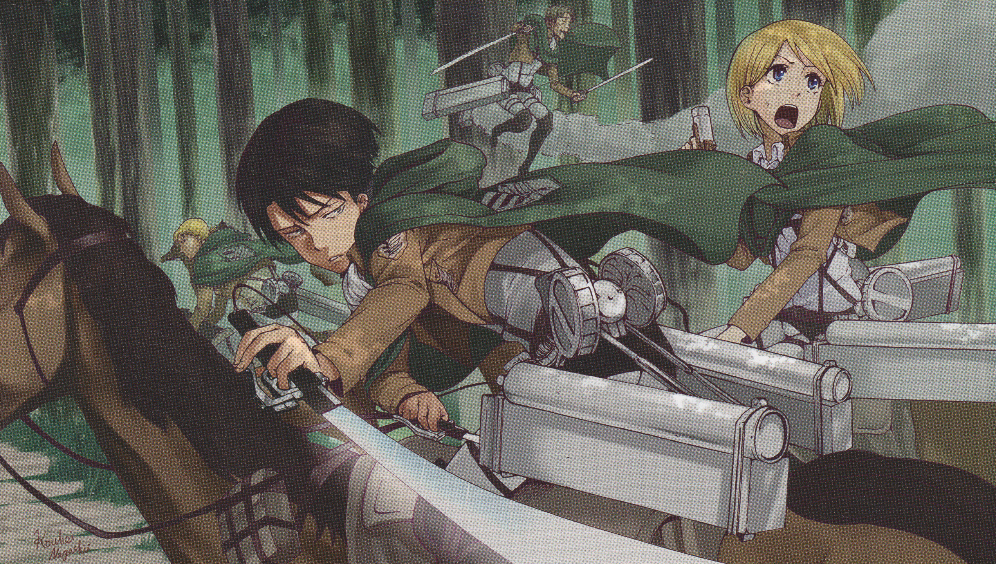 Download Wallpaper From Anime Attack On Titan With Tags Linux Levi Ackerman Petra Ral Auruo Bossard Erd Gin