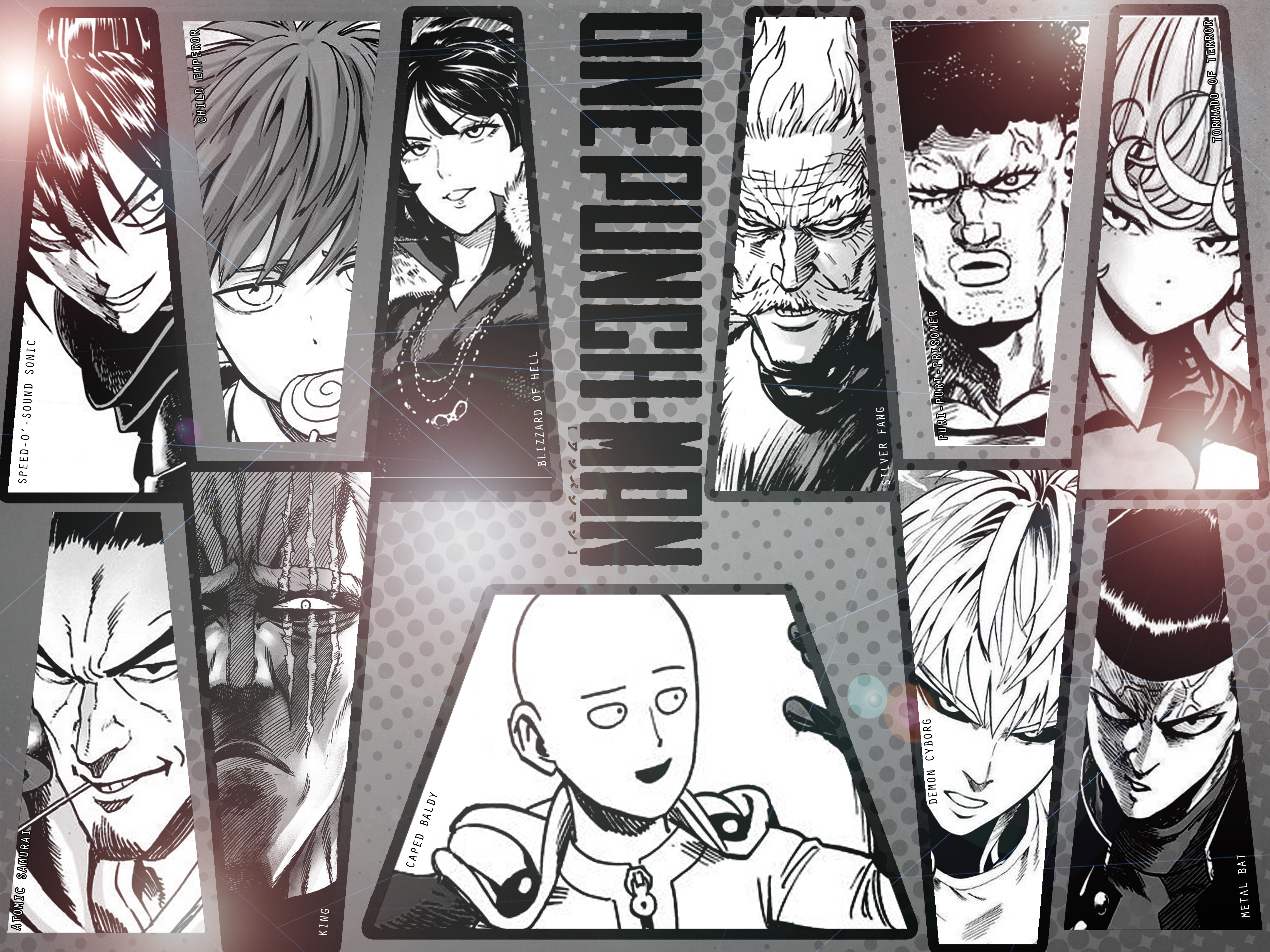Download Wallpaper From Anime One Punch Man With Tags Macbook Air