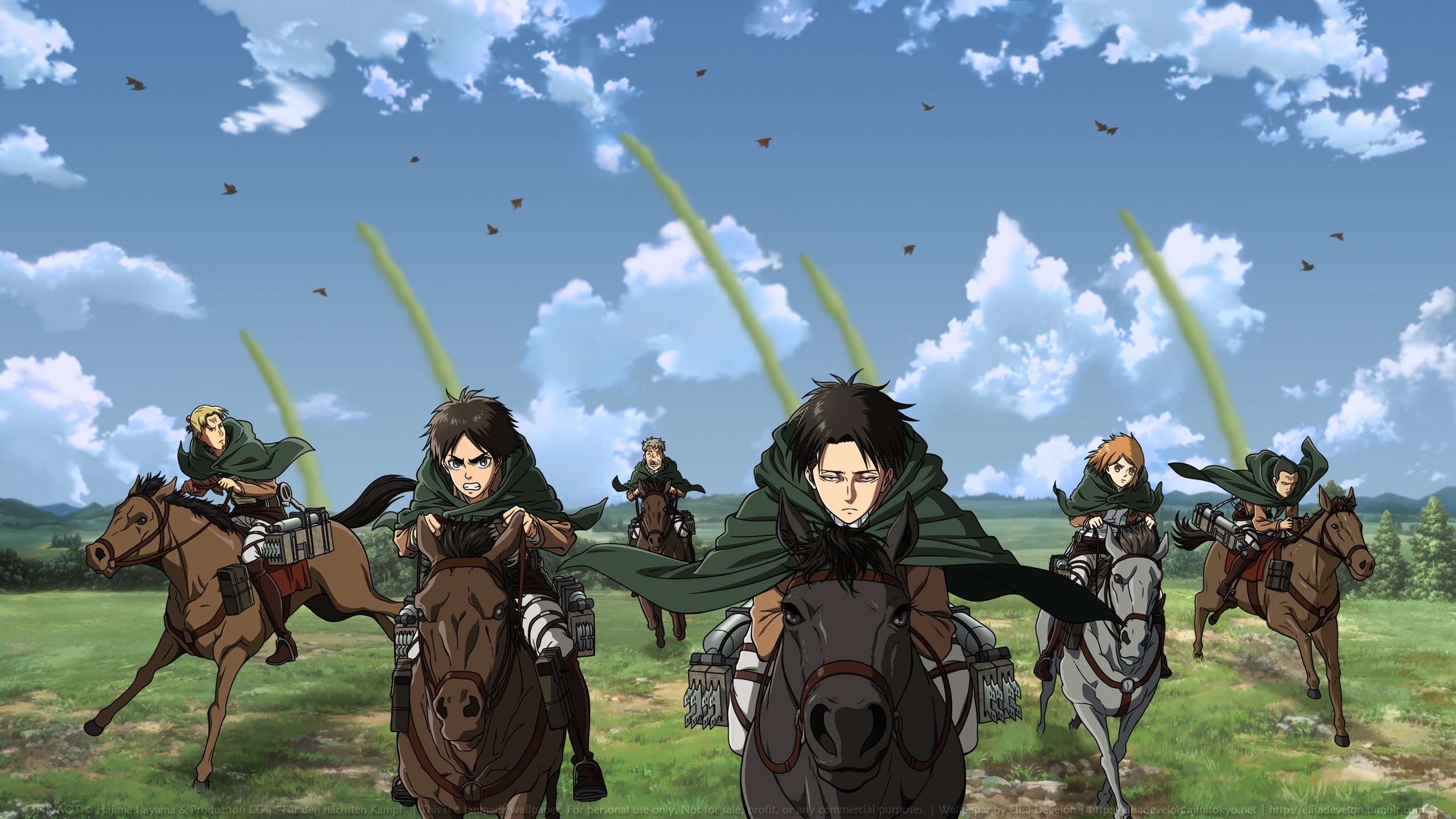 Download Wallpaper From Anime Attack On Titan With Tags Eren Yeager Lock Screen Levi Ackerman Petra Ral Gunther Schultz Oluo Bozado Mike Zacharius