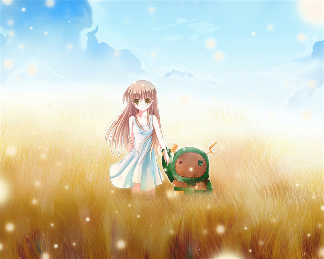 Download Wallpaper From Anime Clannad With Tags Full Screen Girl