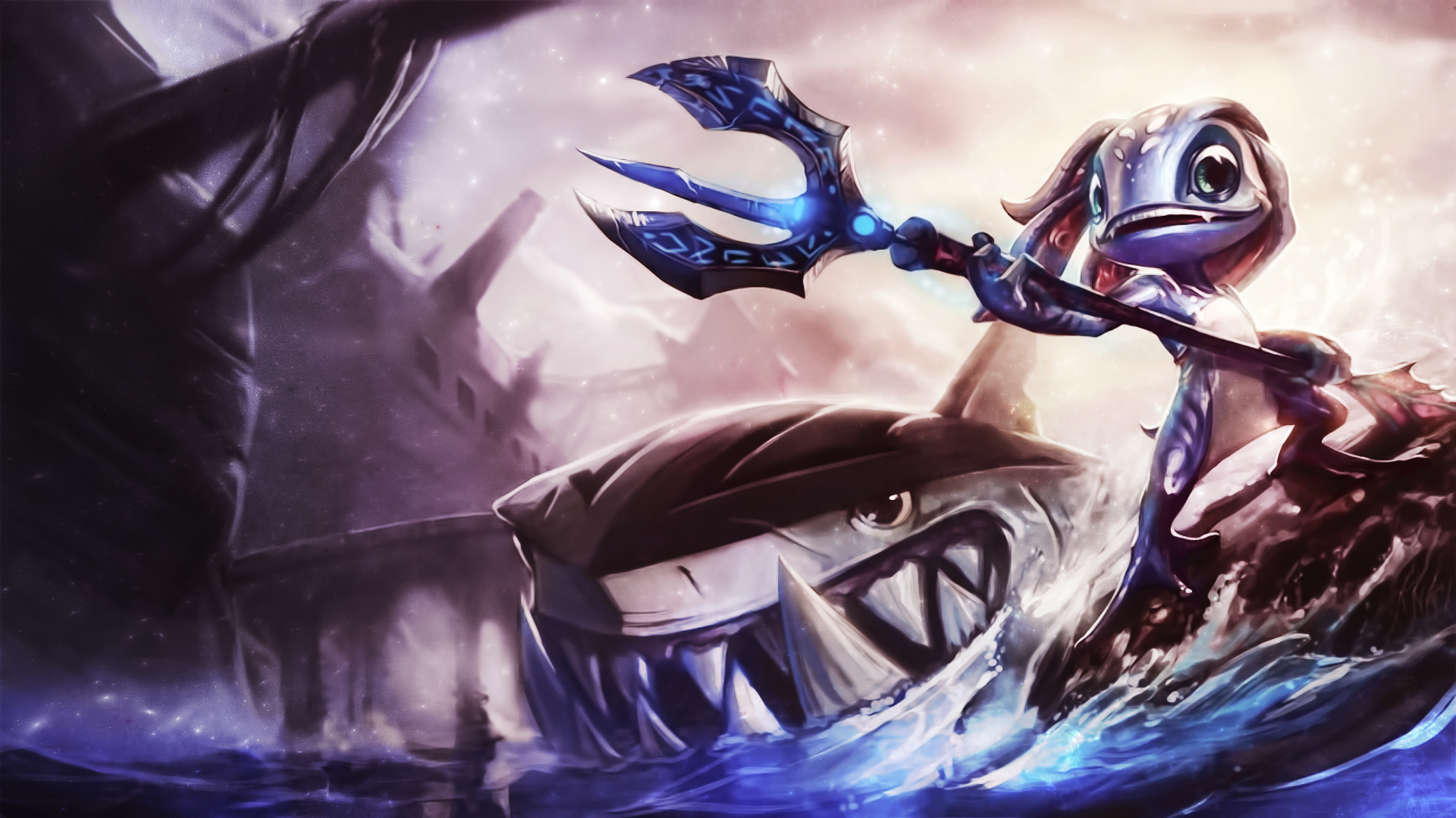 Download Wallpaper From Game League Of Legends With s Desktop Fizz