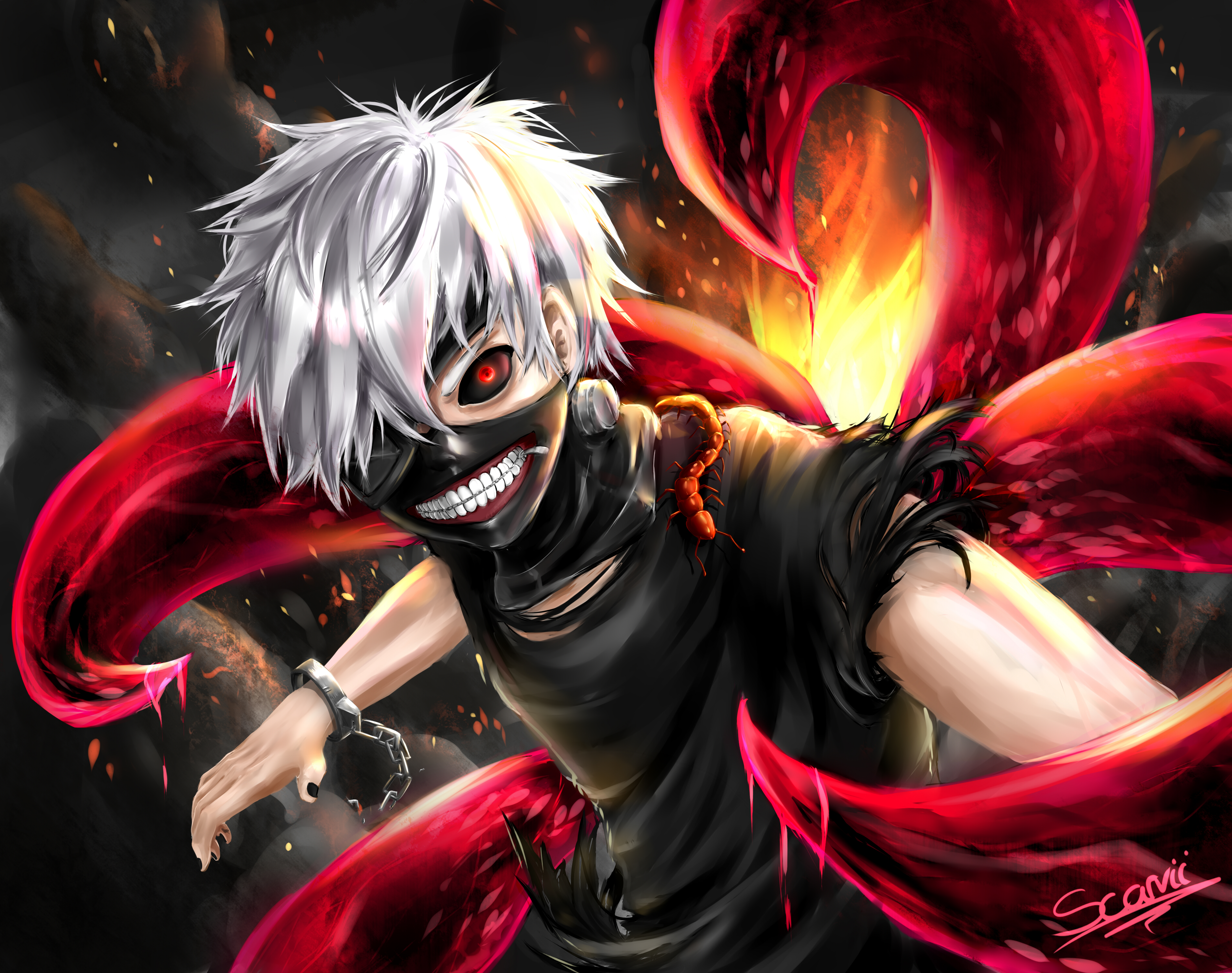 Download Wallpaper From Anime Tokyo Ghoul With Tags Pictures