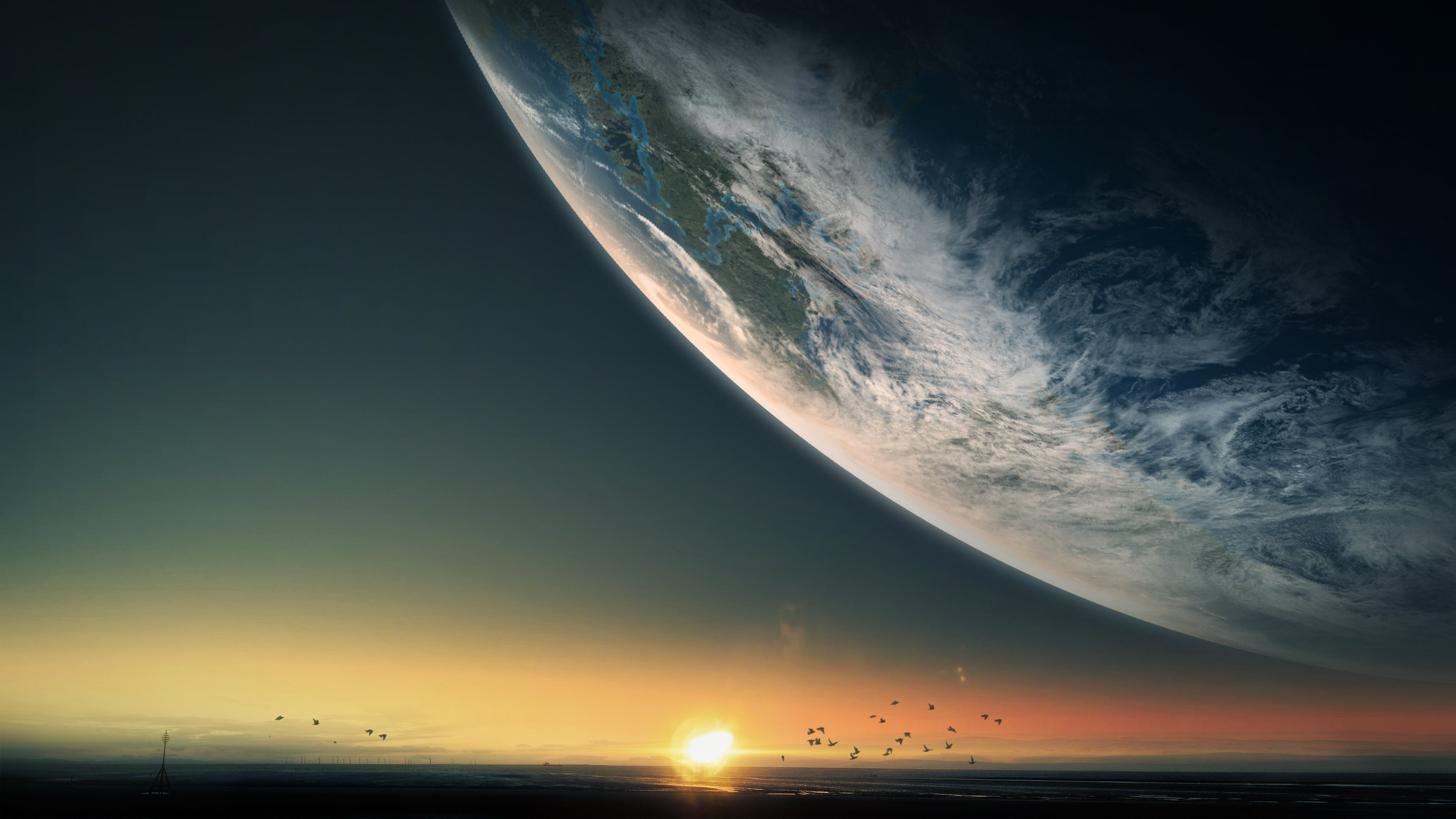 Download wallpaper Sci Fi Planets with tags: Pictures