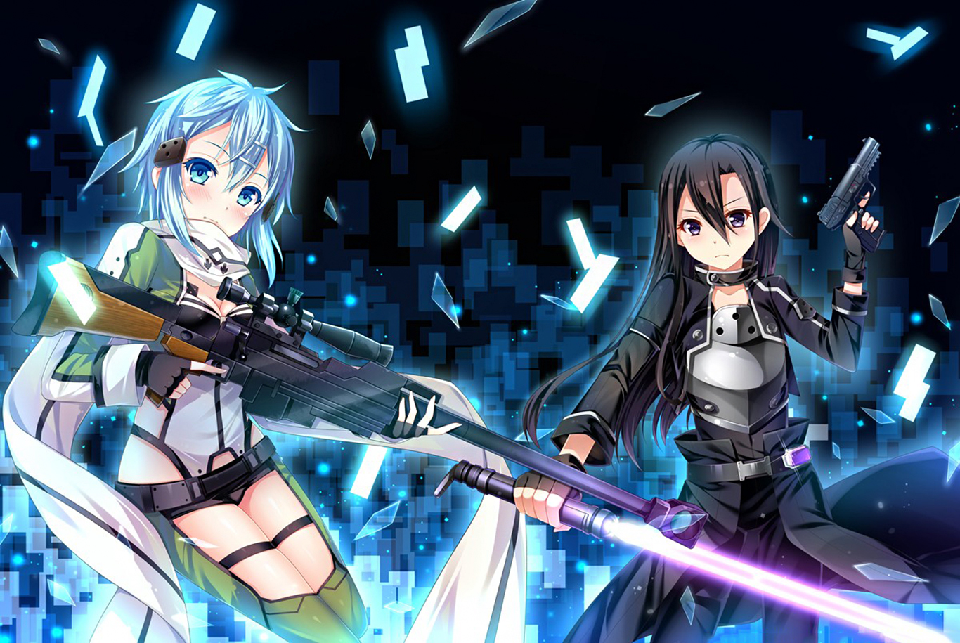 Download Wallpaper From Anime Sword Art Online Ii With Tags