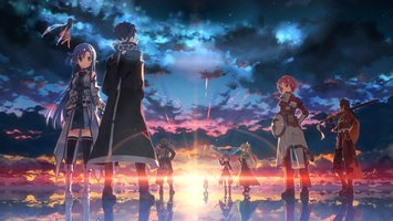 Download wallpaper Sword Art Online II