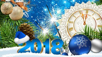 download wallpaper with holiday new year 2018