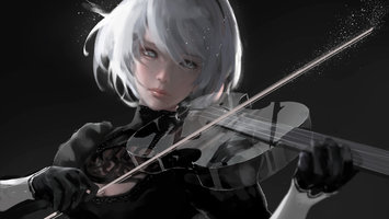 Download wallpaper from game NieR: Automata