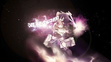 Wallpapers From Anime Attack On Titan 2560x1440 Tags Linux Eren Yeager Mikasa Ackerman