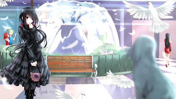 Wallpapers From Anime Date A Live 2048x1152 Tags Computer Windows