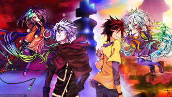Wallpapers From Anime No Game No Life 2048x1152 Tags Cool