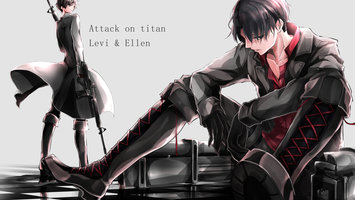 Wallpapers From Anime Attack On Titan 3840x2160 Tags Backgrounds Eren Yeager Mikasa Ackerman