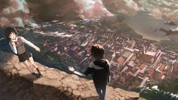 Wallpapers From Anime Your Name 2560x1440 Tags Cool Windows Vista Laptop