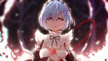 Download Wallpaper From Anime Re Zero Starting Life In Another