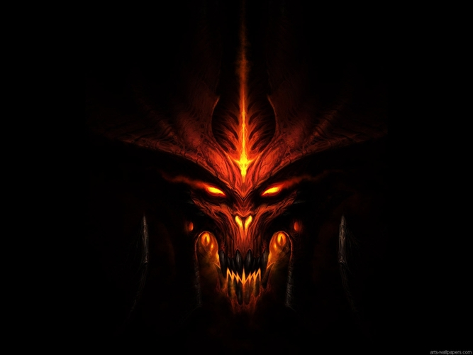 Download Wallpaper From Game Diablo Iii With Tags Dark Computer Cool Windows 8 Windows Vista Demon