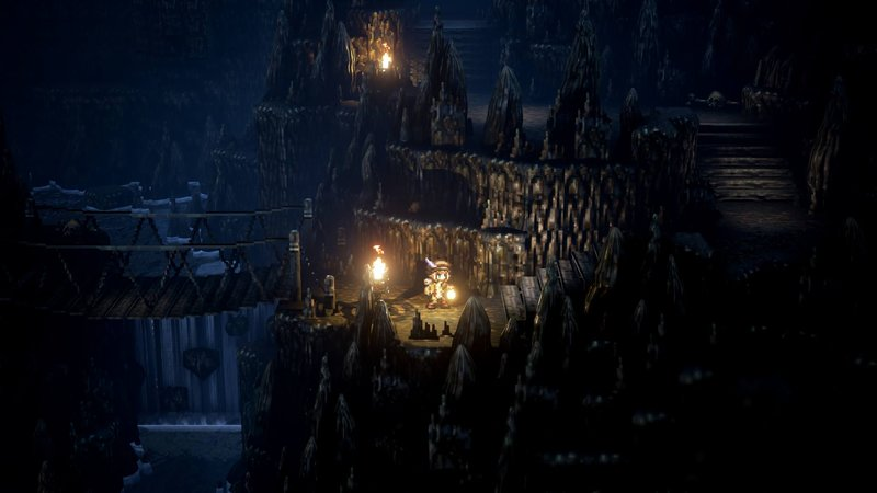 Download wallpaper from game Octopath Traveler with tags ...