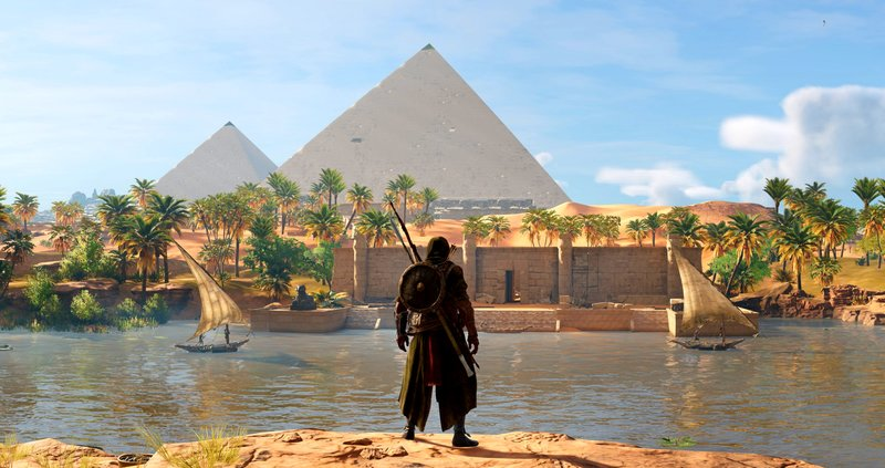 Download Wallpaper From Game Assassin S Creed Origins With Tags