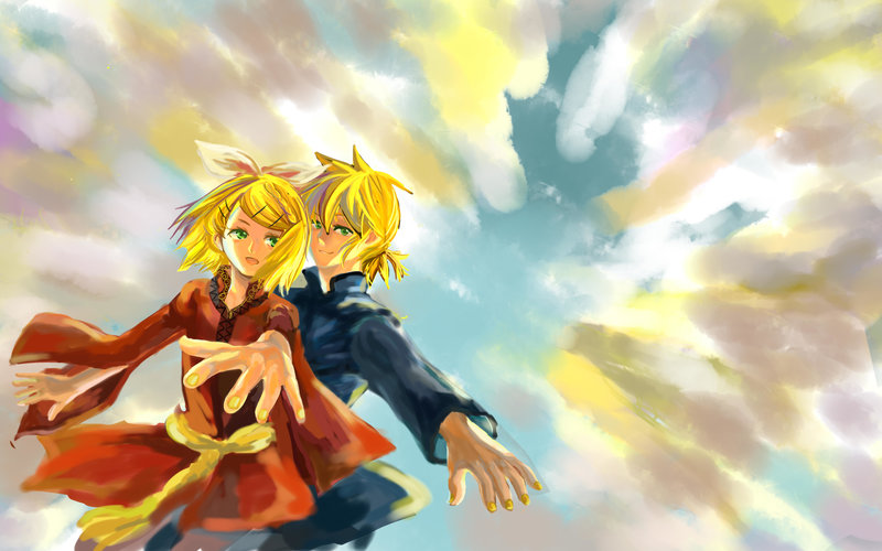 Download wallpaper from anime Vocaloid with tags: Download
