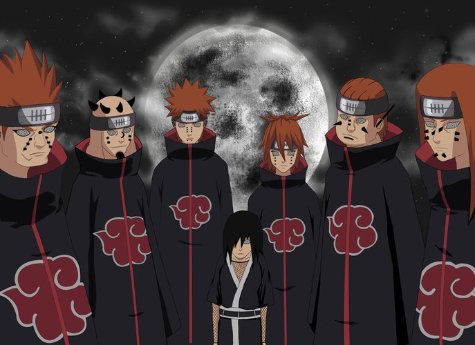 Download Wallpaper From Anime Naruto With Tags Akatsuki Pain
