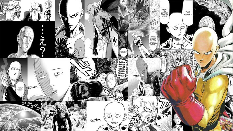 Download Wallpaper From Anime One Punch Man With Tags Computer Saitama