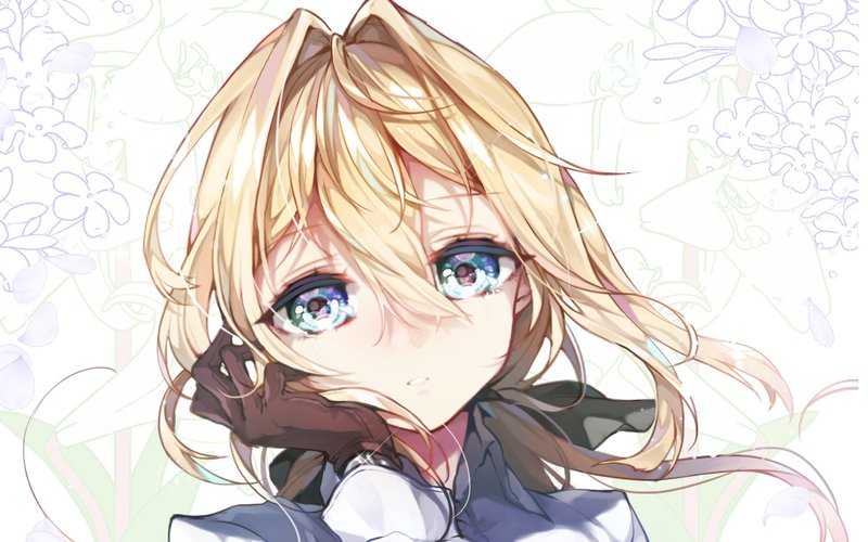 download wallpaper from anime violet evergarden with tags high quality