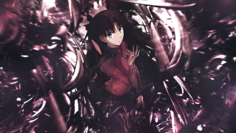 Download Wallpaper From Anime Fate Stay Night With Tags Pictures Rin Tohsaka