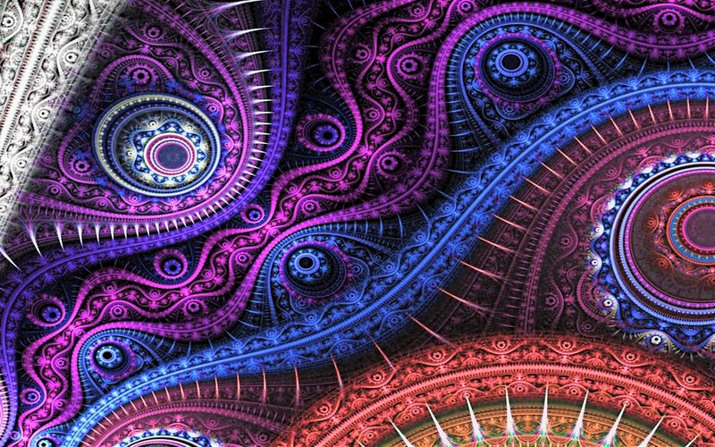 Download Wallpaper Abstract Fractal With Tags Abstract