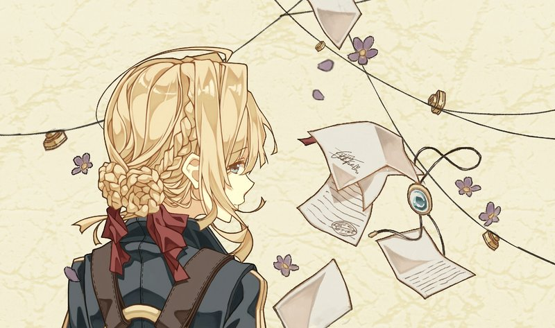Download Wallpaper From Anime Violet Evergarden With Tags Laptop