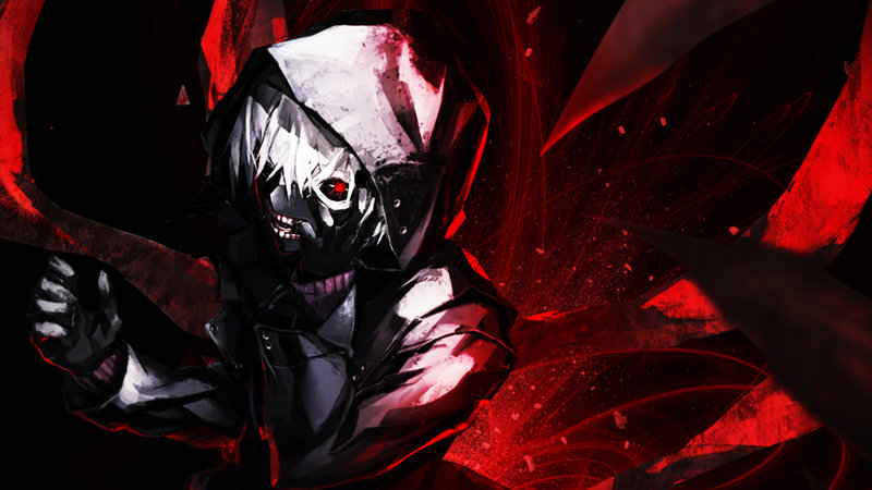 Download wallpaper from anime Tokyo Ghoul with tags: Windows