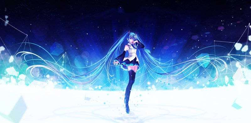 Download Wallpaper From Anime Vocaloid With Tags Hatsune Miku Lock Screen