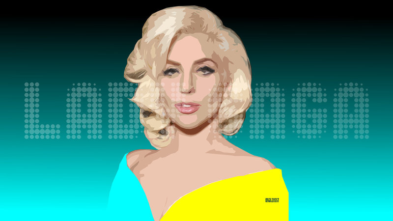 Download Wallpaper Music Lady Gaga With Tags Face Windows