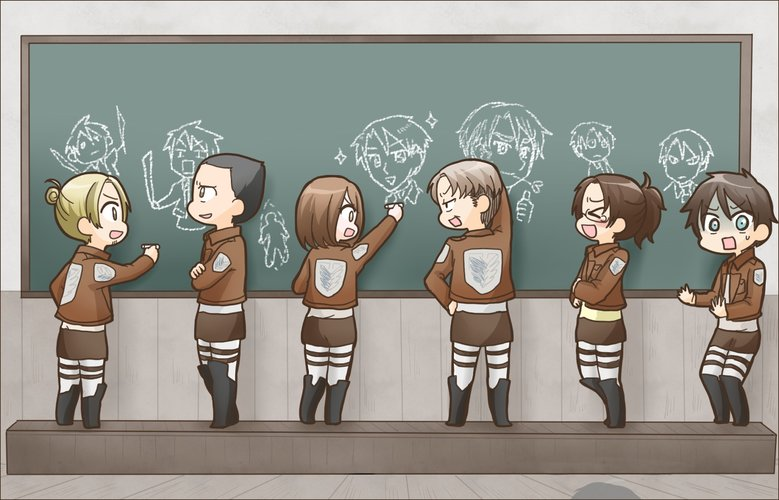 Download Wallpaper From Anime Attack On Titan With Tags Pictures Eren Yeager Hange Zoe Levi Ackerman Petra Ral Auruo Bossard Erd Gin Gunther Schultz