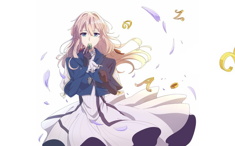 download wallpaper from anime violet evergarden with tags desktop