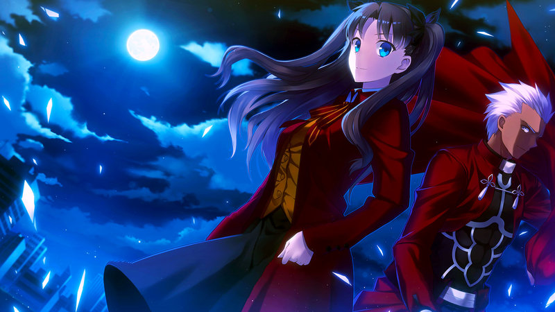 Download Wallpaper From Anime Fate Stay Night With Tags Windows 8 Archer Rin Tohsaka