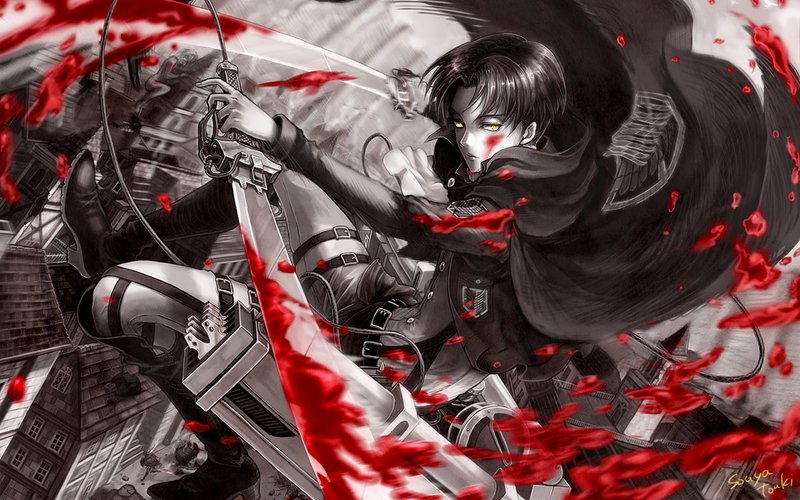 Download Wallpaper From Anime Attack On Titan With Tags Cool Levi Ackerman