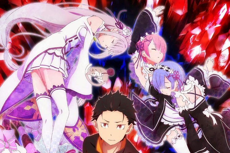 Download Wallpaper From Anime Re Zero Starting Life In
