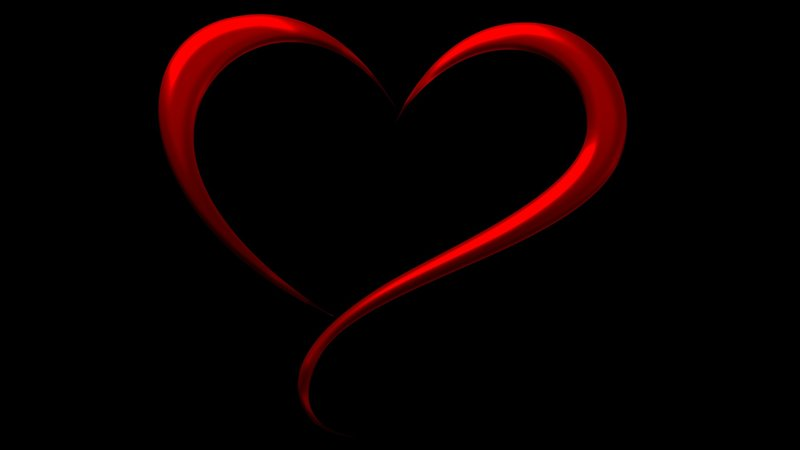 Download Wallpaper Artistic Heart With Tags Artistic Black Love Red Heart Artwork Minimalist Simple Full Screen