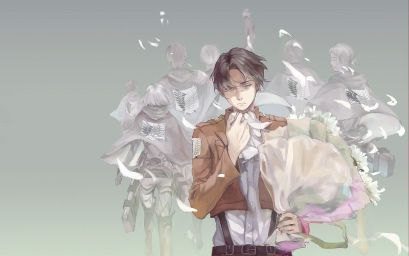 Download Wallpaper From Anime Attack On Titan With Tags Windows 10 Levi Ackerman