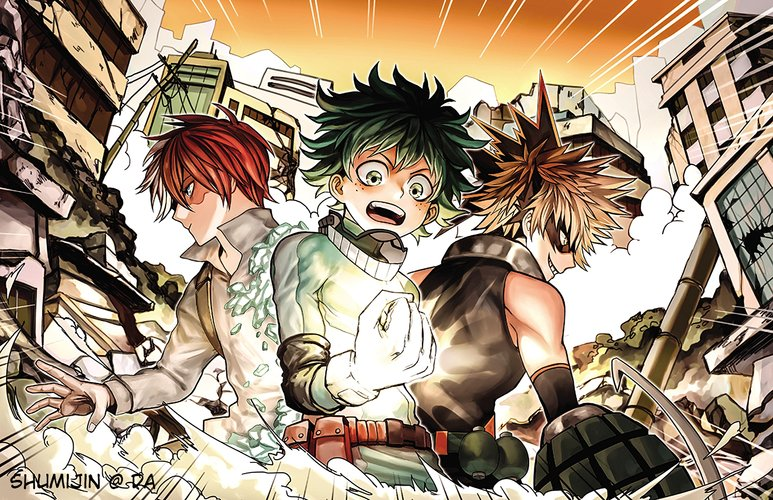 Download Wallpaper From Anime My Hero Academia With Tags Linux