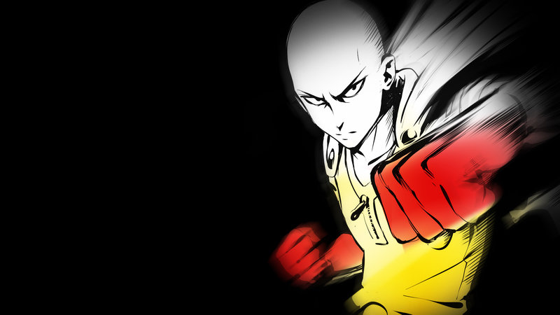 Download Wallpaper From Anime One Punch Man With Tags Linux Saitama