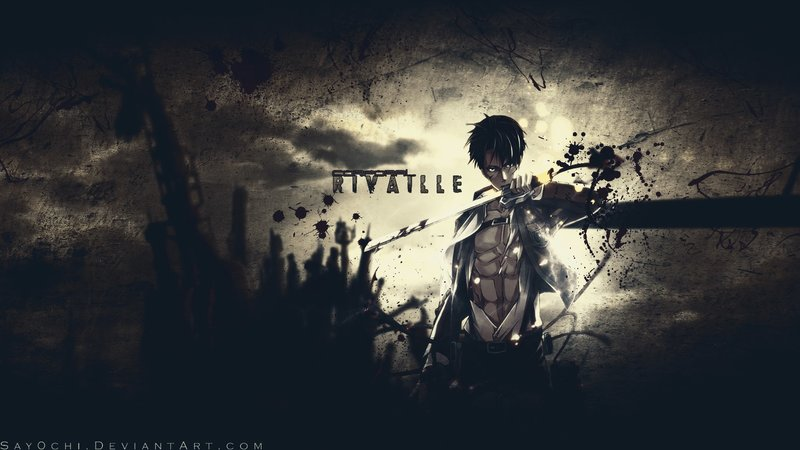 Download Wallpaper From Anime Attack On Titan With Tags Macos Levi Ackerman